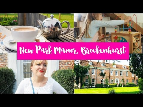 NEW PARK MANOR, BROCKENHURST - A BLISSFUL FAMILY WEEKEND IN THE NEW FOREST