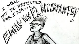 Speed Drawing: For EmiluVonFlapperpants