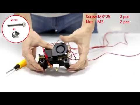 3D Printer Instruction--Anet 3D Printer A6 Assembly Video 2