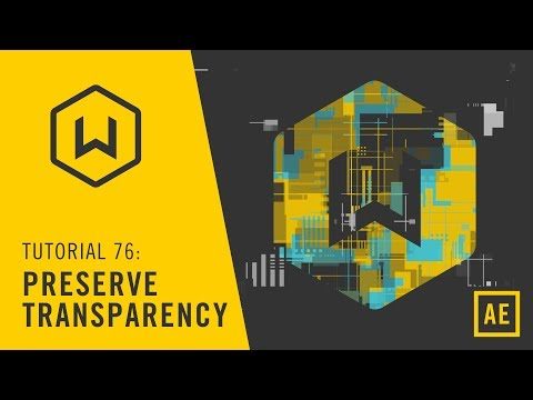 Tutorial: 76 Preserve Transparency