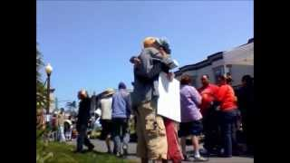 Arcata, CA Farmers Market Free Hugs April 28, 2012