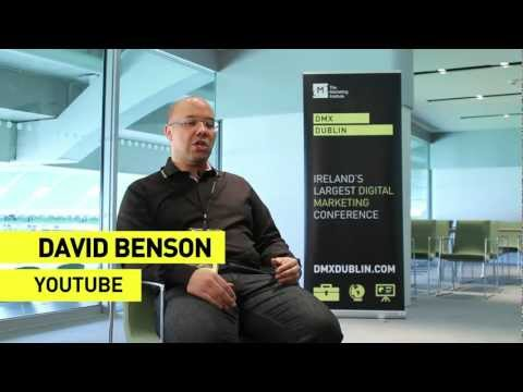 DMX Dublin 2013 - Interview with  David Benson - YouTube