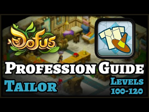 ENGLISH Dofus Guide: How to level Tailor Profession – FAST & CHEAP! Levels 100 to 120!!