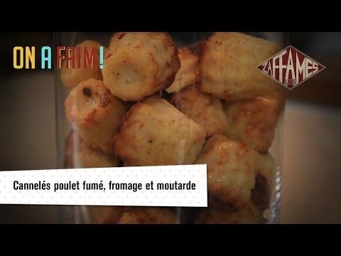 recette-de-cannelés-poulet-fumé,-fromage-et-moutarde,-on-a-faim!