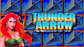⭐⭐ HIGH LIMIT SLΟTS ⭐⭐ At HO CHUNK GAMING! 💥 NEW 💥 THUNDER ARROW Slot Machine!