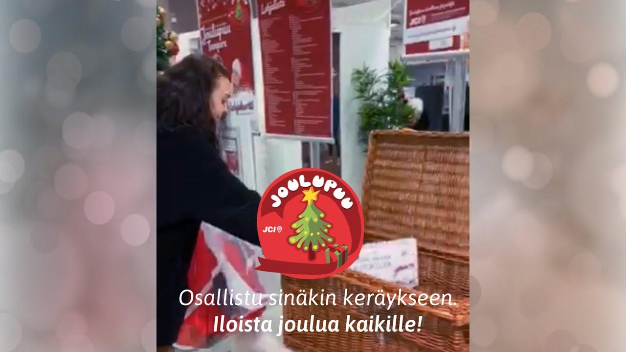 Joulupuu Keräys Oulu