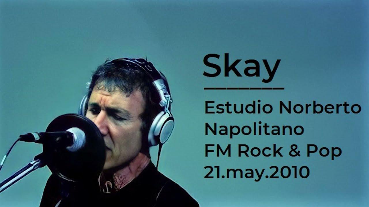 Entre el cielo y la tierra - Skay Beilinson (Estudio Norberto Napolitano, Rock & Pop, 21-5-2010)