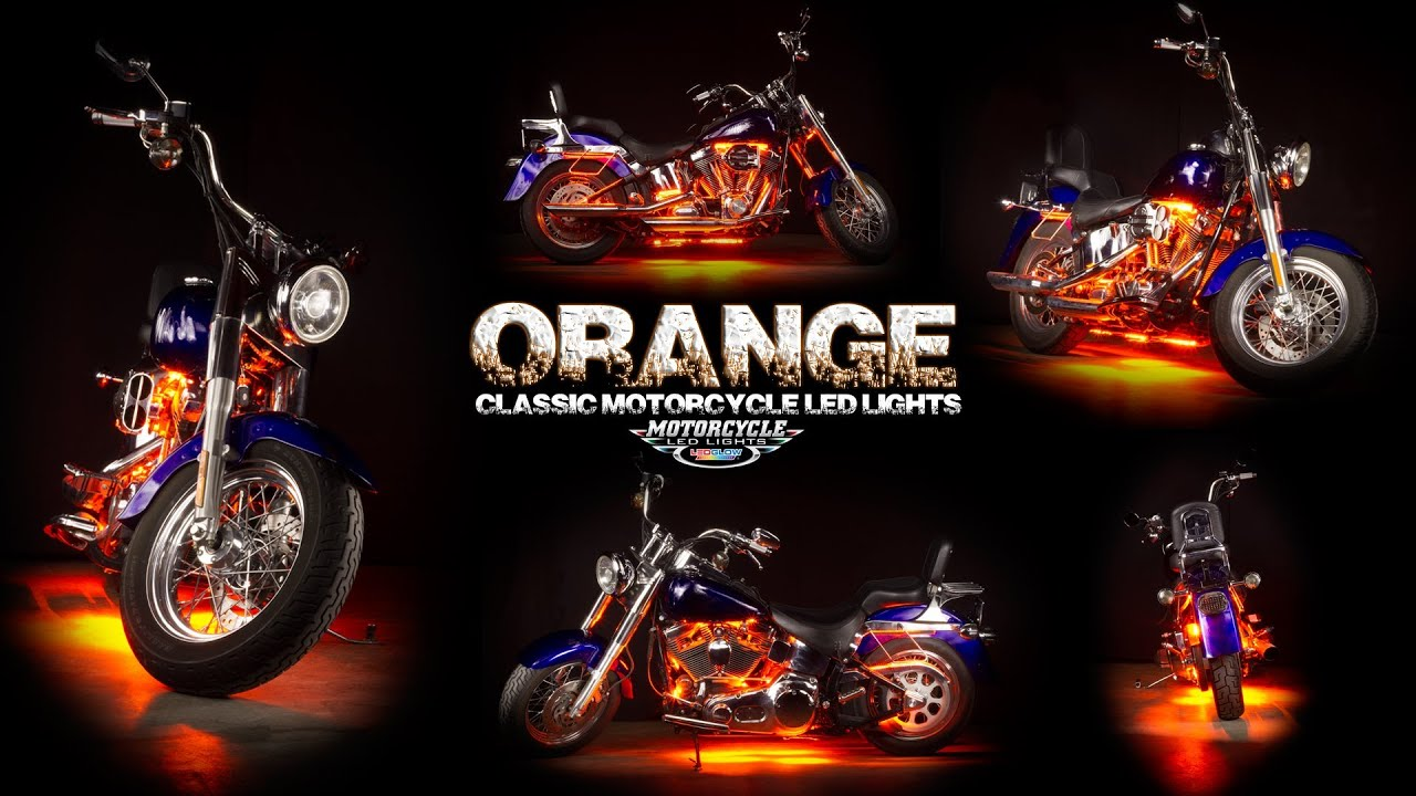 to install motorcycle watch led youtube how ledglow lights lighting
