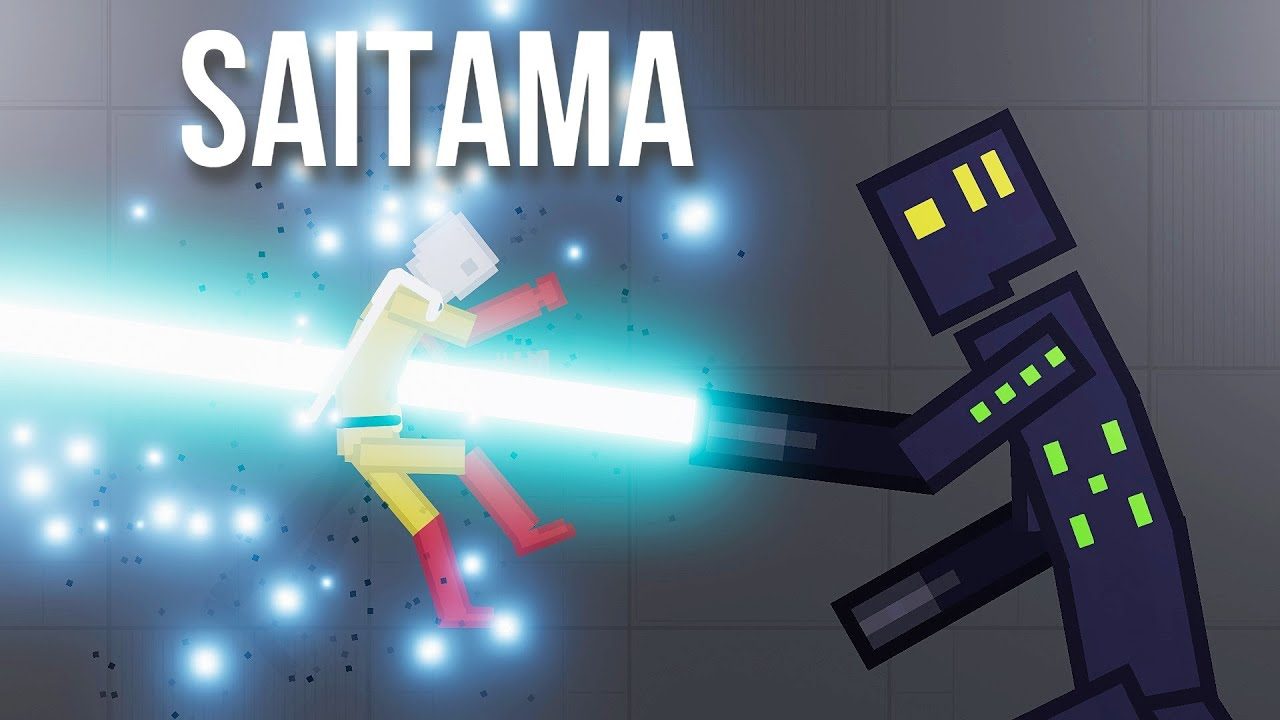 SAITAMA vs Biodroid from the Future - People Playground 1.18