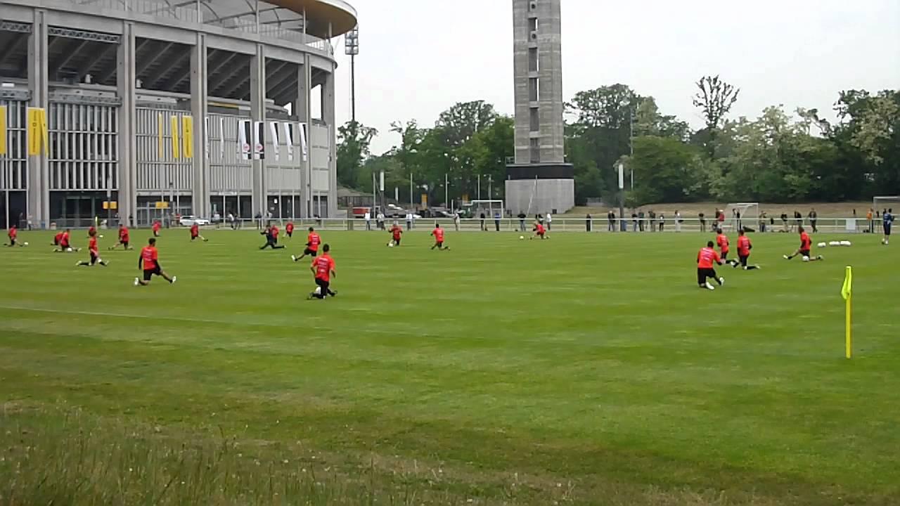 Eintracht Frankfurt Training