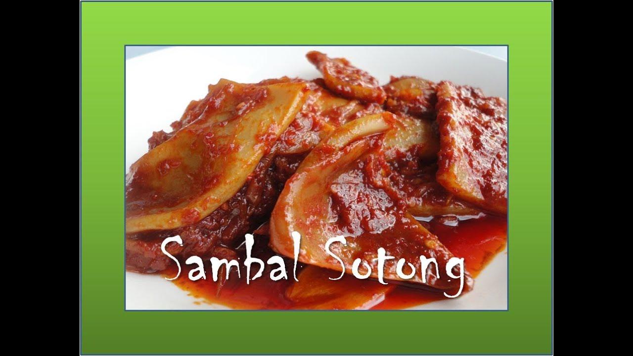 SAMBAL SOTONG KEMBANG NASI LEMAK - YouTube