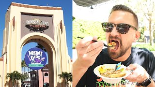 Trying More Mardi Gras Food On A Day Universal Studios Reached Capacity & Universal Studios Store!