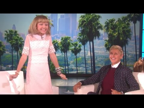 """Grace VanderWaal Performs On """"Ellen""""!"""