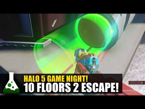 10 Floors Escape 2! - Halo 5 Puzzle Map