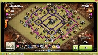 How to use Gowiwipe 3 stars TH9 ~~~ Rock ~~