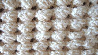 Embossed Pocket Stitch - Crochet tutorial