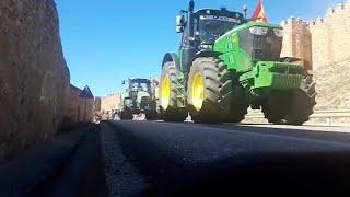 Los agricultores se manifiestan en Guadalajara
