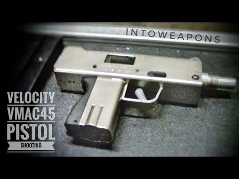Shooting the VMAC45 Pistol ( 45ACP MAC-10)