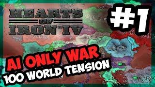 NORTH KOREA STRIKES Hearts of Iron IV - 100 World Tension - Modern Day - E.1