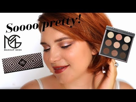 TRYING MAKEUP GEEK FOR THE FIRST EVER ! So excited ^^ thumbnail