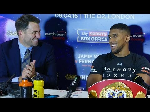 Anthony Joshua vs Charles Martin - POST FIGHT PRESS CONFERENCE