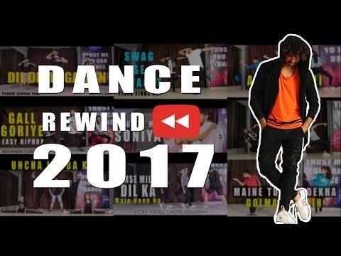 Bollywood Dance Mashup Rewind of 2017 ❤ VICKY PATEL DANCE #youtuberewind