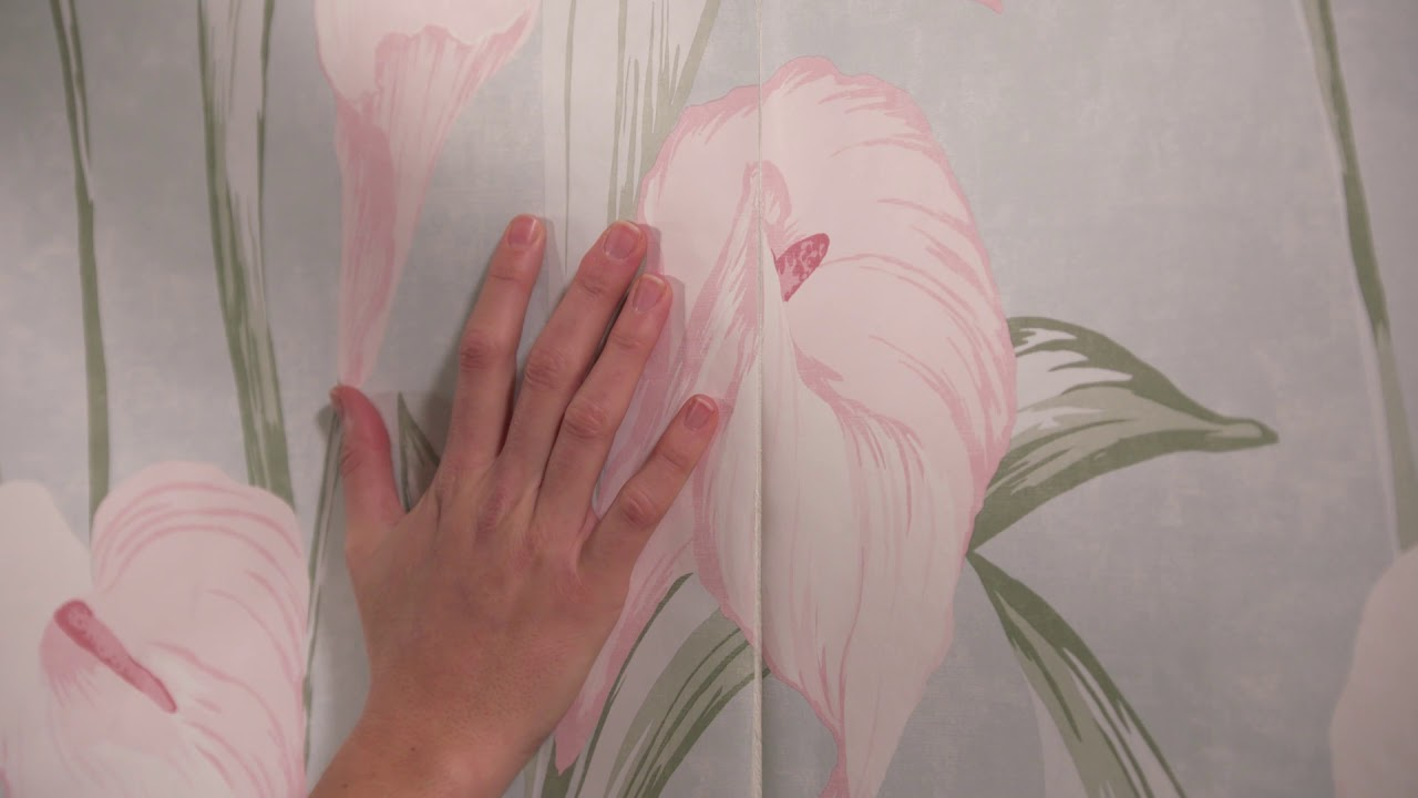 How To Hang Paste The Wall Wallpaper Laura Ashley Youtube