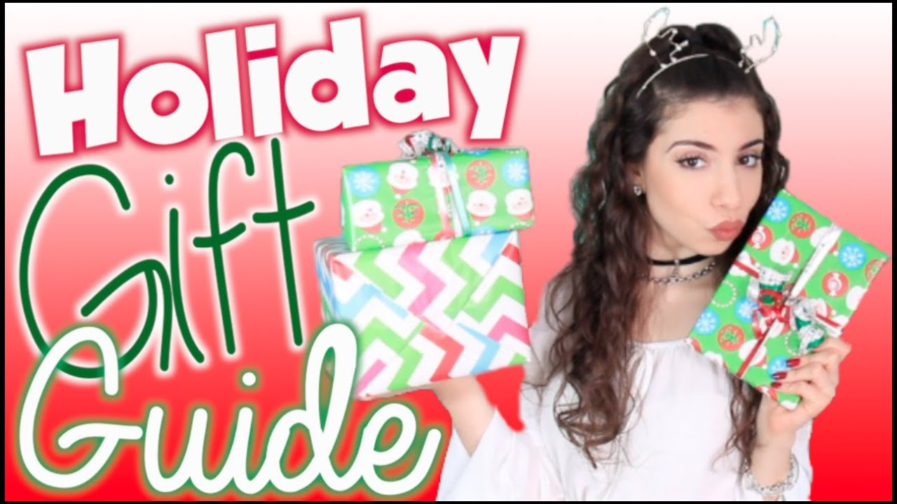 Holiday Gift Guide 2014 + Cheap DIY Gift Ideas! - YouTube