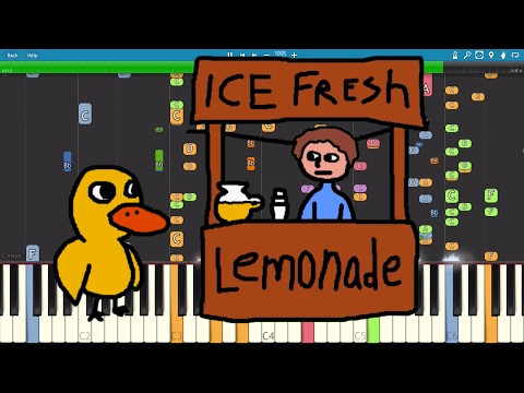 IMPOSSIBLE REMIX - The Duck Song - Piano Cover