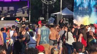 Kim Petras - All The Time / Faded - Live at San Diego Pride Festival 2018