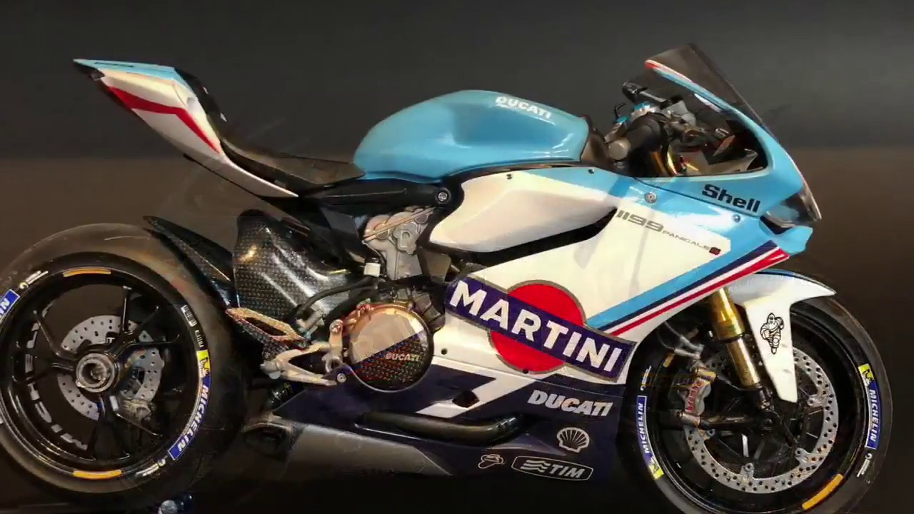 Build Of Scale Model Tamiya 1 12 Ducati Panigale Martini