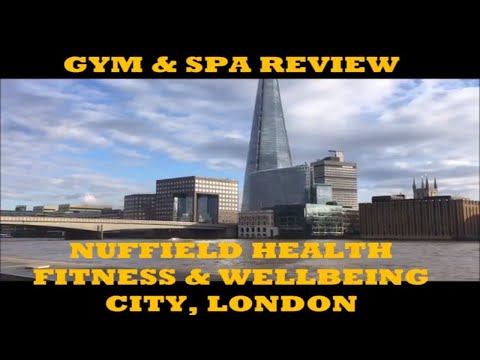 Nuffield Health Fitness & Wellbeing, City, London  -Gym & Spa Review