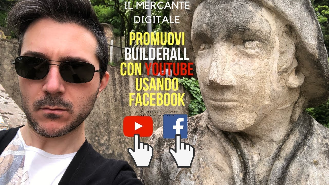 Promuovi Builderall con YouTube usando Facebook
