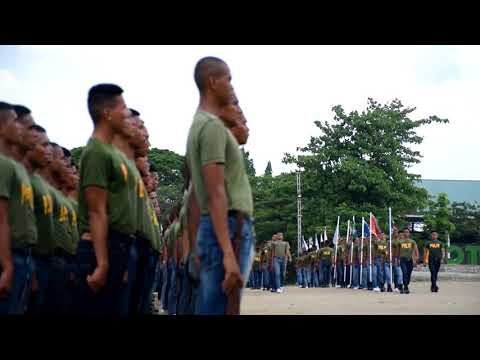 Graduation Day of PNP-Special Action Force (SAF)Trainees at Magalang, Pampanga - July 6, 2018
