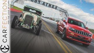 Jeep Grand Cherokee SRT: Drag Racing At Santa Pod - Carfection