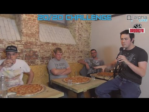 Brooklyn Pizza Bar 20/20 Challenge - As Broadcast Live