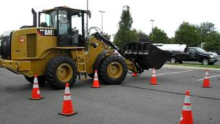 APWA Equipment Roadeo: Full loader run