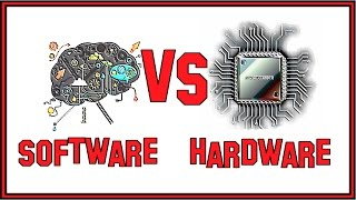 The Difference Between Software and Hardware.