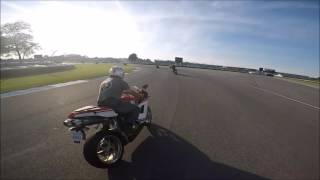 Ducati 1199 laps the Historic Indy Speedway Moto GP 2015