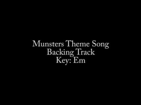 Munsters Theme Song Backing Track