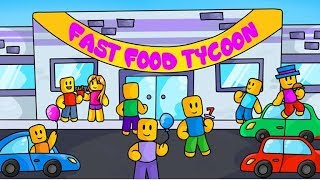 Roblox, Fast Food Tycoon! Ep 1-Départ à mi-chemin
