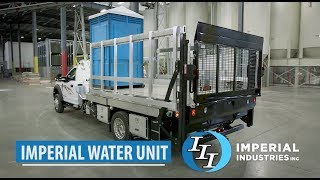 New 500-gallon portable restroom water unit