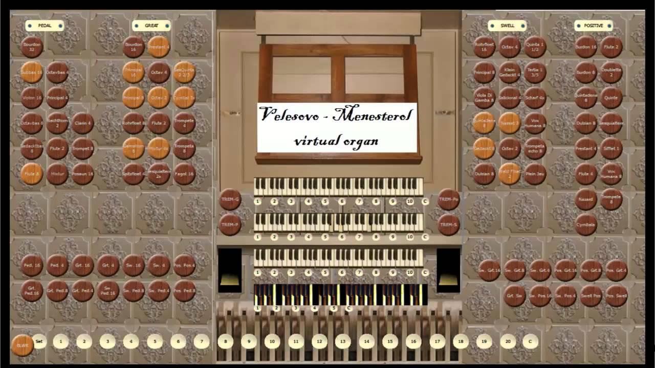 Bach: Fantasia in G minor BWV 542 - YouTube