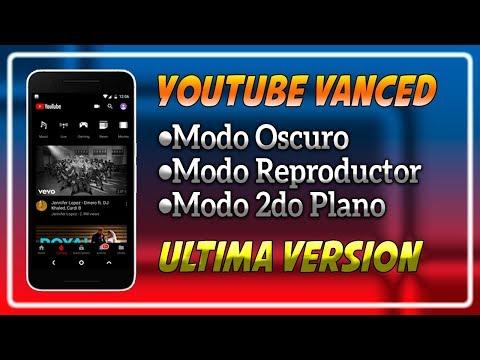 Nuevo Youtube Vanced v13.49.52 (Black) + MicroG Actualizado 2019 No Ads Mod Apk 