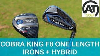 COBRA KING F8 ONE LENGTH IRONS REVIEW + ONE LENGTH HYBRID