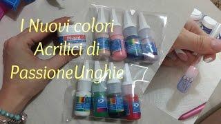 Review Passione Unghie: I nuovi colori acrilici+ nail art fiocco, Camouflage phard