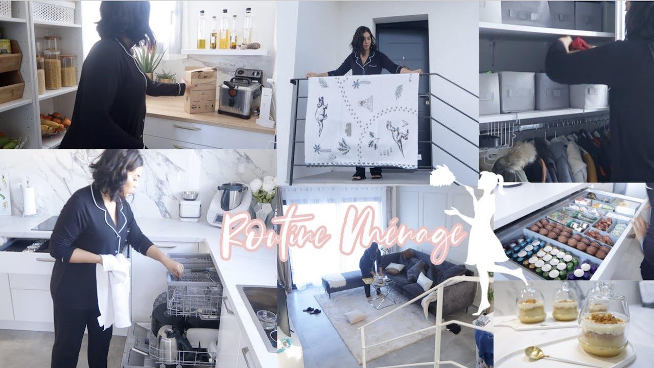 CLEAN WITH ME  | Routine Ménage -  Motivation - Organisation - Recette
