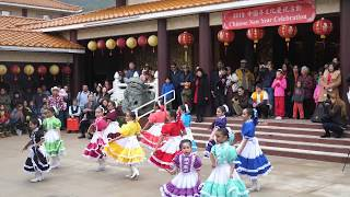 Chinese New Year 2019 Celebration at IBPS (Austin, TX)-Mexican Folk Dance
