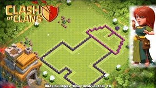 Clash of Clans Town Hall 7 Hardest Base Ever! Best Defensive/Trophy Base - Troll Base - Funny