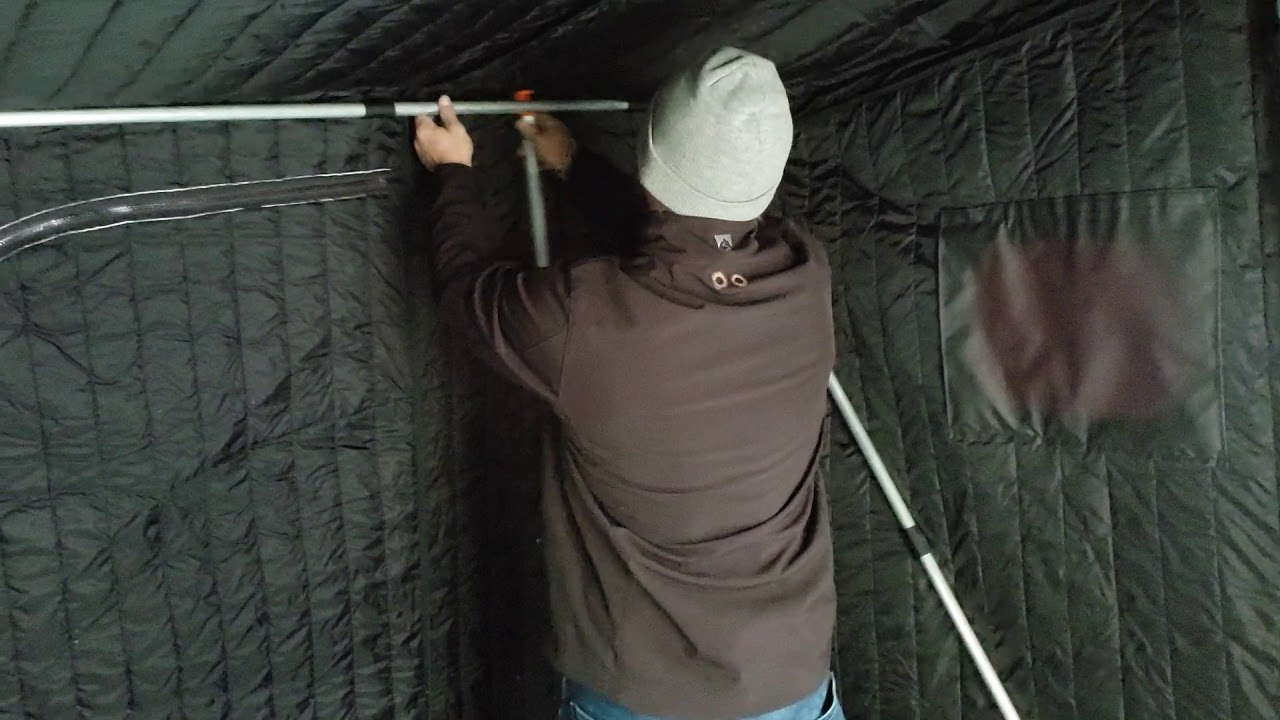 How to: Setting up a Black Hole Ice Shack Part